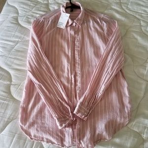 H&M stripes shirt - Size 2